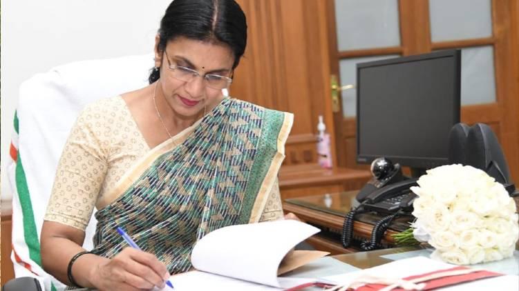 കോട്ടയം ജില്ലാ കളക്ടറായി എം. അഞ്ജന ചുമതലയേറ്റു