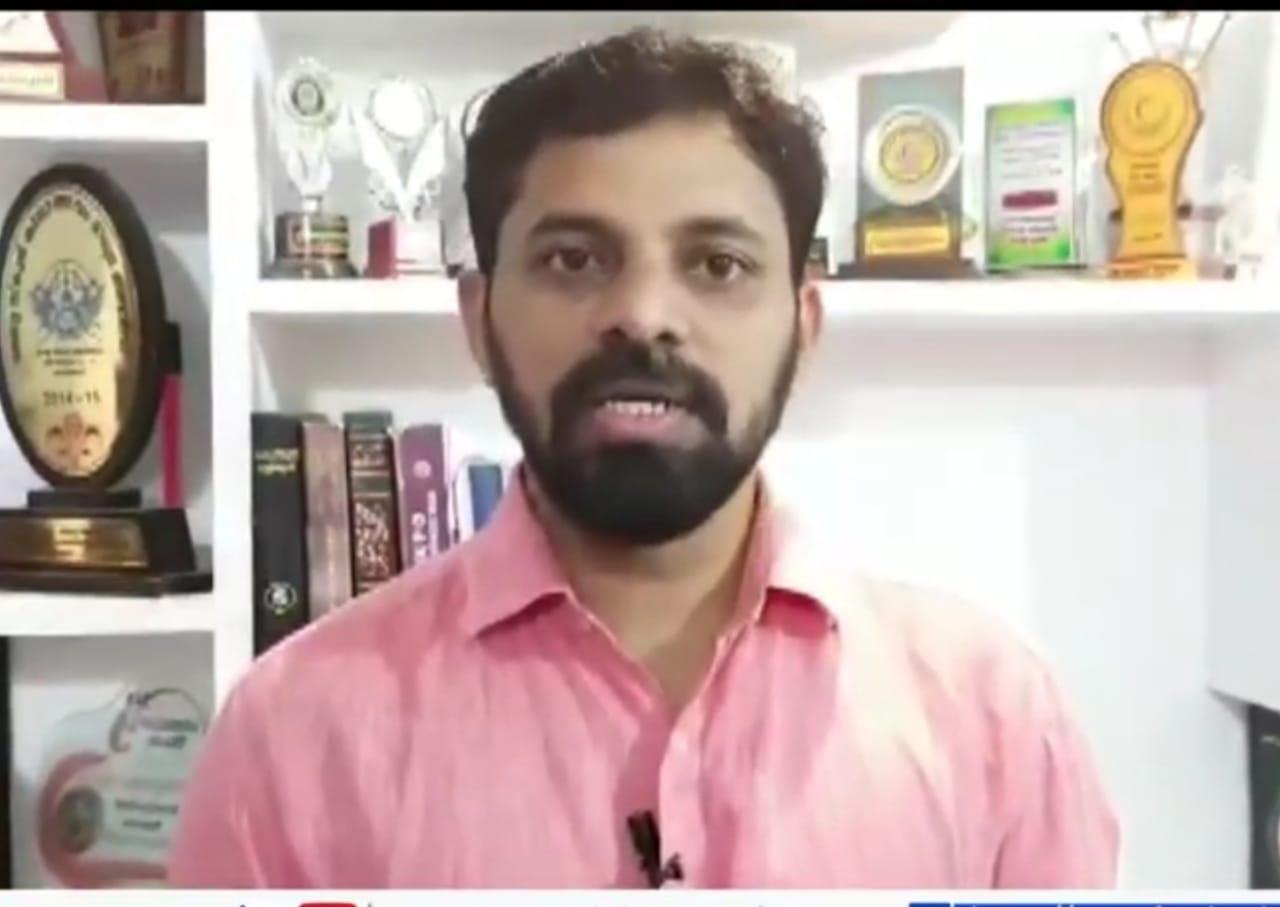 'ആരാധനാലയങ്ങളില് തന്നെ വേണോ പ്രര്ത്ഥന', മാധ്യമപ്രവർത്തകൻ ഫഖ്റുദ്ധീന് പന്താവൂരിന്റെ വീഡിയോ വൈറലാകുന്നു