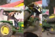 ഡൽഹിയിലെ റാലിയിൽ സംഘർഷം ട്രാക്ടർ മറിഞ്ഞ് ഒരു കർഷകൻ മരിച്ചു